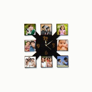 Photo Clock - 8 Photos