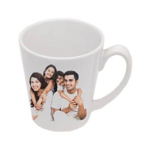 Cone Mug White - 12 Oz